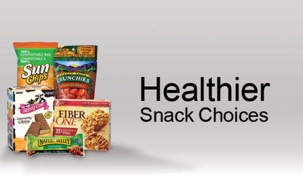 Healthy vending machine snacks